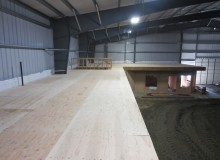 BMX INDOOR RACETRACK