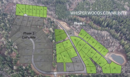 Whisper Woods Lot 1 – SOLD